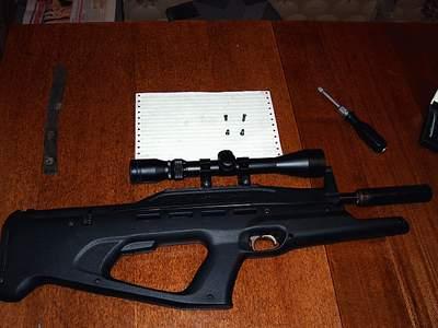 Пневматическая винтовка МР512 Мурка  Винтовки
