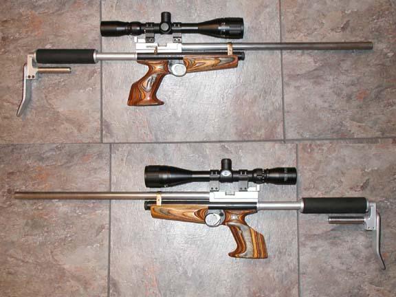Псп винтовка своими руками